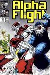 Cover for Alpha Flight (Marvel, 1983 series) #55