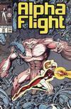 Cover for Alpha Flight (Marvel, 1983 series) #56