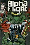 Cover for Alpha Flight (Marvel, 1983 series) #59