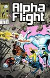 Cover for Alpha Flight (Marvel, 1983 series) #61
