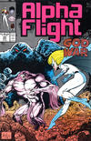 Cover for Alpha Flight (Marvel, 1983 series) #64