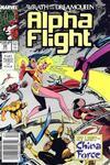 Cover for Alpha Flight (Marvel, 1983 series) #69