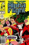 Cover for Alpha Flight (Marvel, 1983 series) #70