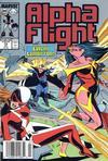 Cover for Alpha Flight (Marvel, 1983 series) #72