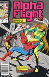 Cover for Alpha Flight (Marvel, 1983 series) #74