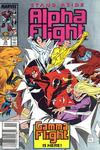 Cover for Alpha Flight (Marvel, 1983 series) #76