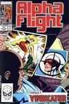 Cover for Alpha Flight (Marvel, 1983 series) #77
