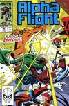 Cover for Alpha Flight (Marvel, 1983 series) #80
