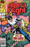 Cover for Alpha Flight (Marvel, 1983 series) #81