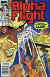 Cover for Alpha Flight (Marvel, 1983 series) #83