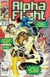 Cover for Alpha Flight (Marvel, 1983 series) #85