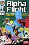 Cover for Alpha Flight (Marvel, 1983 series) #90