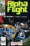 Cover for Alpha Flight (Marvel, 1983 series) #91