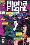 Cover for Alpha Flight (Marvel, 1983 series) #95