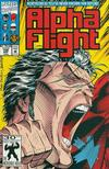 Cover for Alpha Flight (Marvel, 1983 series) #106 [First Printing]