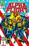 Cover for Alpha Flight (Marvel, 1983 series) #107
