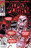 Cover for Alpha Flight (Marvel, 1983 series) #114 [Direct]
