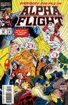 Cover for Alpha Flight (Marvel, 1983 series) #127