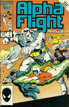 Cover Thumbnail for Alpha Flight Annual (1986 series) #1 [Direct]