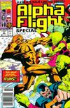Cover Thumbnail for Alpha Flight Special (1991 series) #2 [Newsstand Variant]