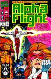 Cover Thumbnail for Alpha Flight Special (1991 series) #4 [Direct]