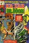 Cover for Astonishing Tales (Marvel, 1970 series) #2 [Regular Edition]