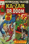 Cover for Astonishing Tales (Marvel, 1970 series) #4 [Regular Edition]