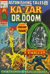 Cover for Astonishing Tales (Marvel, 1970 series) #6 [Regular Edition]