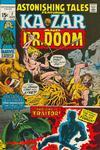 Cover for Astonishing Tales (Marvel, 1970 series) #7 [Regular Edition]