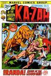 Cover for Astonishing Tales (Marvel, 1970 series) #9 [Regular Edition]