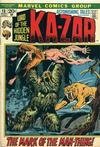Cover for Astonishing Tales (Marvel, 1970 series) #13 [Regular Edition]