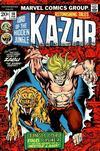 Cover for Astonishing Tales (Marvel, 1970 series) #16 [Regular Edition]