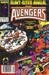 Cover for The Avengers Annual (Marvel, 1967 series) #16 [Newsstand]