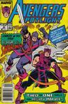 Cover for Avengers Spotlight (Marvel, 1989 series) #22 [Newsstand]