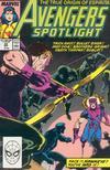 Cover for Avengers Spotlight (Marvel, 1989 series) #24 [Direct]
