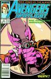 Cover for Avengers Spotlight (Marvel, 1989 series) #25 [Newsstand]