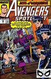 Cover for Avengers Spotlight (Marvel, 1989 series) #28 [Direct]