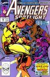 Cover for Avengers Spotlight (Marvel, 1989 series) #29 [Direct]