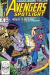 Cover for Avengers Spotlight (Marvel, 1989 series) #30