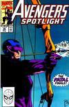 Cover for Avengers Spotlight (Marvel, 1989 series) #36