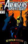 Cover for Avengers Spotlight (Marvel, 1989 series) #39