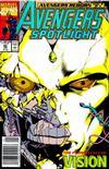 Cover for Avengers Spotlight (Marvel, 1989 series) #40