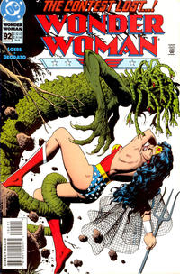 Cover Thumbnail for Wonder Woman (DC, 1987 series) #92 [Direct Sales]