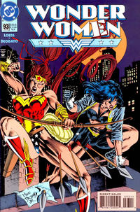 Cover Thumbnail for Wonder Woman (DC, 1987 series) #93 [Direct Sales]