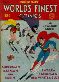 Cover Thumbnail for World's Finest Comics (DC, 1941 series) #4
