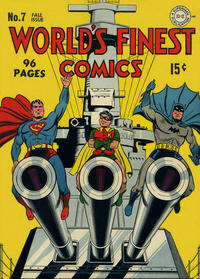 Cover Thumbnail for World's Finest Comics (DC, 1941 series) #7