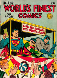 Cover Thumbnail for World's Finest Comics (DC, 1941 series) #8