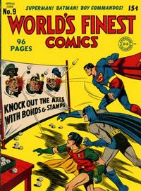Cover Thumbnail for World's Finest Comics (DC, 1941 series) #9