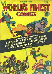 Cover Thumbnail for World's Finest Comics (DC, 1941 series) #10
