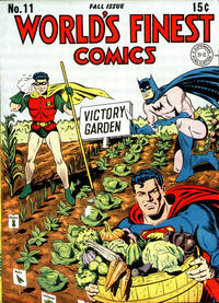 Cover Thumbnail for World's Finest Comics (DC, 1941 series) #11